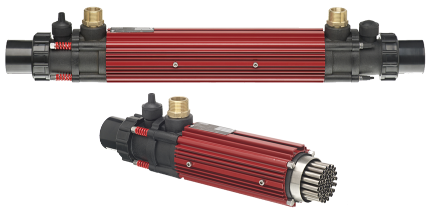 Теплообменники в бассейнах Кожухотрубный конденсатор Alfa Laval ACFC 240/244 Саров